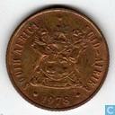 Zuid-Afrika 2 cents 1978
