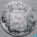 Pays Bas 5 cent 1826