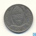 Botswana 10 thebe 1989