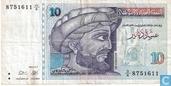 Tunesië 10 Dinars