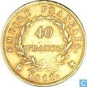 Frankrijk 40 francs 1811 (A)