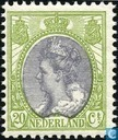 Postage Stamps - Netherlands [NLD] - 20 gray / green