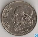 Coins - Mexico - Mexico 1 peso 1975 (long date)