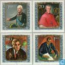1984 Schilderijen beroemde bezoekers (LIE 275)