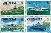 1993 Oorlogsschepen W.O. II (GIB 166)