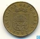 Letland 5 santimi 1992