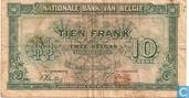 Belgique 10 Francs
