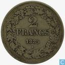 Belgique 2 Francs 1835