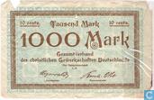 Berlin 1000 Mark 1923