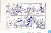 Bert Trekker stripkaart 1e serie 6
