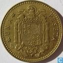 Spanje 1 peseta 1975 (1980)
