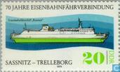 Zug-Fährverbindung 1909-1979