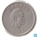 Zambia 5 ngwee 1982