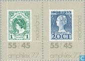 Postzegels - Nederland [NLD] - Amphilex '77