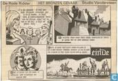 Bandes dessinées - Chevalier Rouge, Le [Vandersteen] - Het bronzen gevaar