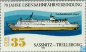 Train-ferry connection 1909-1979