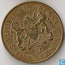 Kenia 5 cents 1968