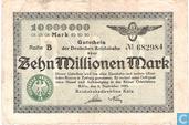 Köln (Reichsbahn) 10 million Mark 1923