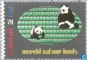 Timbres-poste - Pays-Bas [NLD] - WWF-World Wildlife Fund