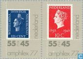 Postage Stamps - Netherlands [NLD] - Amphilex ' 77
