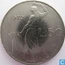 Italy 50 lire 1972