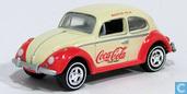 Voitures miniatures - Johnny Lightning - Volkswagen Kever 'Coca-Cola'
