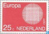 Briefmarken - Niederlande [NLD] - Europa – Geflochtene Sonne