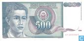 Joegoslavië 500 Dinara 1990