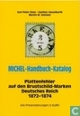 Plattenfehler auf den Brustschild-Marken Deutsches Reich 1872-1874