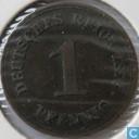 Duitse Rijk 1 pfennig 1876 (A)