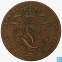Belgique 5 centimes 1834