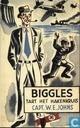 Biggles tart het hakenkruis