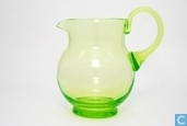Glass / crystal - Kristalunie - Dante Waterkan 750 ml. vert-chine