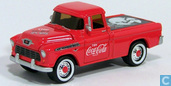 Modelauto's  - Johnny Lightning - Chevrolet Cameo 'Coca-Cola'