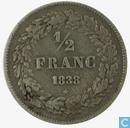 Belgien ½ Franc 1838