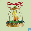 "Tweety Christmas ornament ""Deck the Halls!"""