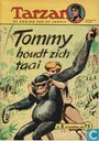 Bandes dessinées - Tarzan - Tommy houdt zich taai