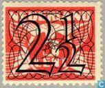 Postzegels - Nederland [NLD] - 'Guilloche' of 'Traliezegels'