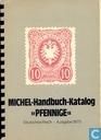 """Handbuch-Katalog """"Pfennige"""" 1875"""