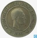 Belgien 20 Centime 1860