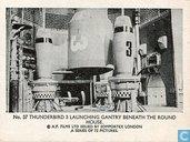 Thunderbird 3 launching gantry beneath the round house.