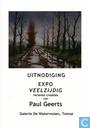 """Uitnodiging """"Expo Veelzijdig"""" Recente creaties van Paul Geerts"""