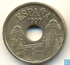 "Spanien 25 Pesetas 1997 ""Melilla"""