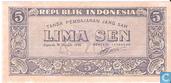 Indonésie 5 Sen 1945
