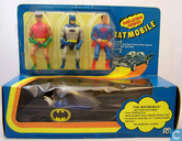 Batmobile Comic Action Heroes