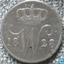 Pays Bas 25 cent 1828