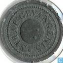 Penningen / medailles - Gevangenisgeld - 10 cent 1834 Woerden
