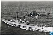 Van Speyk-klasse fregat met Wasp-helicopter