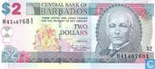 Barbados 2 Dollars