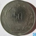 Monnaies - Turquie - Turquie 50 kurus 1976